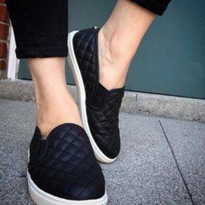 Steve Madden Black Slip-on Sneakers (EcentrcQ)